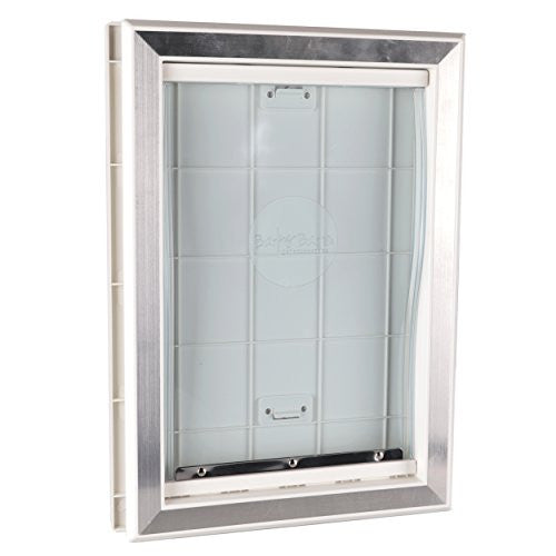 Large Plastic Dog Door With Aluminum Lining