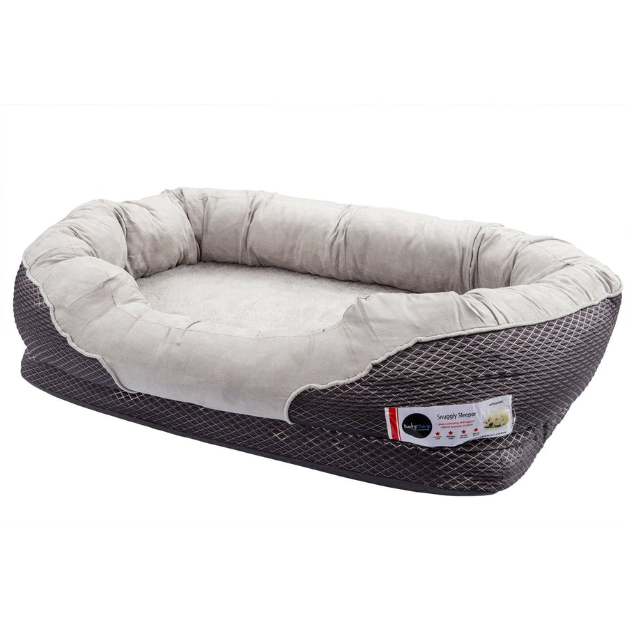Replacement Cover & Bolster -Dog Bed