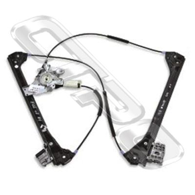 WINDOW REGULATOR - L/H - W/O MOTOR - TO SUIT BMW 3'S E46 1998-    2DR