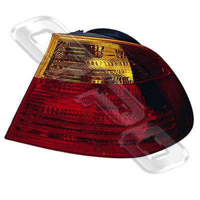 REAR LAMP - R/H - AMBER/RED - TO SUIT BMW 3'S E46 2D 1998-