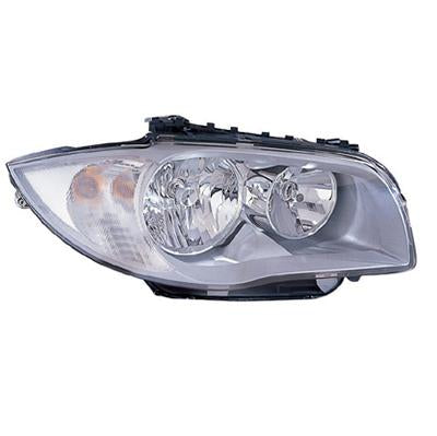 HEADLAMP - R/H - ELECTRIC - CHROME - TO SUIT BMW 1'S E87 2004-