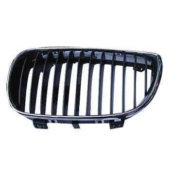 GRILLE - W/CHROME FRAME - BLACK - R/H - TO SUIT BMW 1'S E87 2004-