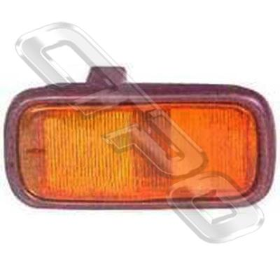 SIDE LAMP - R/H - IN GUARD - TO SUIT DAIHATSU CHARADE G100 1987-92