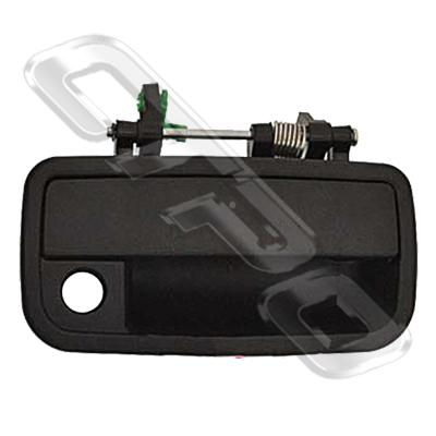 DOOR HANDLE - FRONT OUTER - R/H - BLACK - TO SUIT DAIHATSU CHARADE G200 1993-