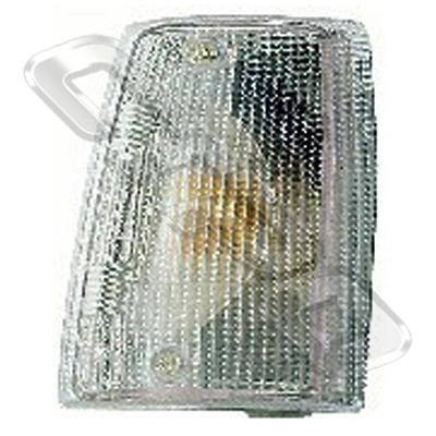 CORNER LAMP - LENS - L/H - CLEAR - TO SUIT FIAT UNO 1983-89