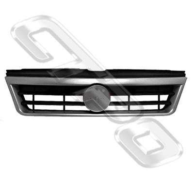 GRILLE - PAINTED SILVER - TO SUIT FIAT DUCATO VAN 2002-05