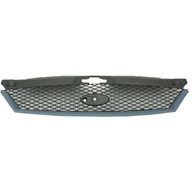 GRILLE - MAT BLACK - W/BLACK MLDG - TO SUIT FORD MONDEO 2001-