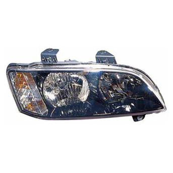 HEADLAMP - R/H - BLACK - TO SUIT HOLDEN COMMODORE VE OMEGA SERIES 1 2006-