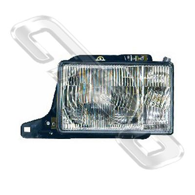 HEADLAMP - R/H - SQUARE H/L - TO SUIT HOLDEN JACKAROO 1987-