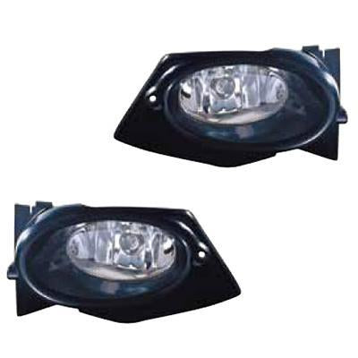 FOG LAMP - SET - L/H & R/H - TO SUIT HONDA FIT / JAZZ 2008-