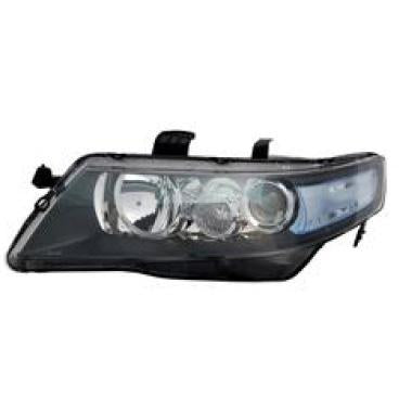 HEADLAMP - L/H - ELECTRIC - CLEAR INDICATOR - TO SUIT HONDA ACCORD 2003-08  IMPORT