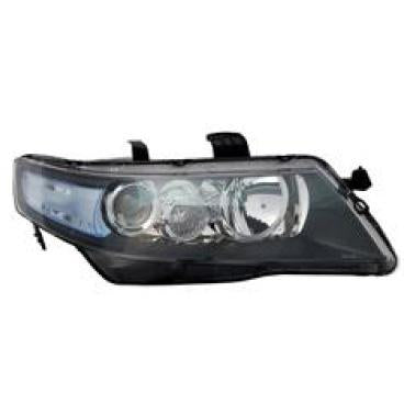 HEADLAMP - R/H - ELECTRIC - CLEAR INDICATOR - TO SUIT HONDA ACCORD 2003-08  IMPORT