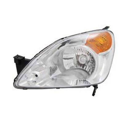 HEADLAMP - L/H - MANUAL - AMBER/CLEAR - TO SUIT HONDA CRV 2002-