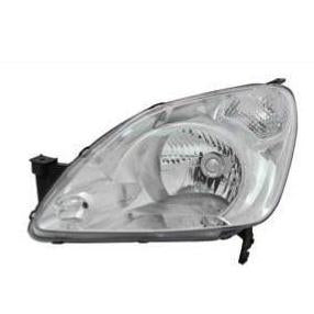 HEADLAMP - L/H - MANUAL - CLEAR/CLEAR - TO SUIT HONDA CRV 2002-