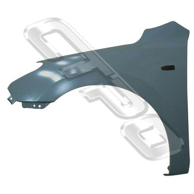 FRONT GUARD - L/H - W/SIDE LAMP HOLE - TO SUIT HYUNDAI I30 2008-