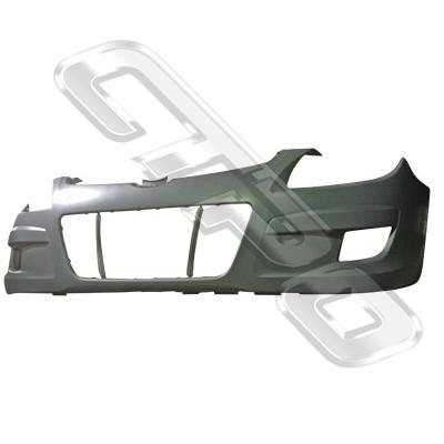 FRONT BUMPER - PRIMED GREY - TO SUIT HYUNDAI I30 2008-