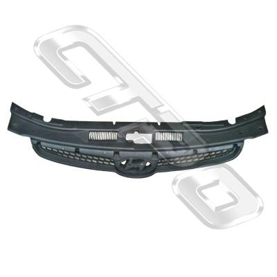 GRILLE - MAT/BLACK - TO SUIT HYUNDAI I30 2008-