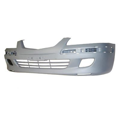 FRONT BUMPER - PRIMED GREY - TO SUIT MAZDA 626 GF 2000-02  F/L