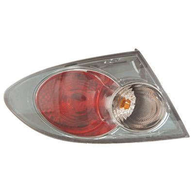 REAR LAMP - L/H - OUTER - GREY - TO SUIT MAZDA 6 2006-  F/LIFT