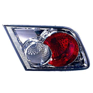 TAILGATE LAMP - L/H - INNER - CHROME - TO SUIT MAZDA 6 2003-