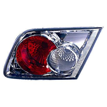 TAILGATE LAMP - R/H - INNER - CHROME - TO SUIT MAZDA 6 2003-