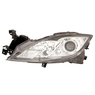 HEADLAMP - L/H - ELECTRIC/MANUAL - TO SUIT MAZDA 6 2010-