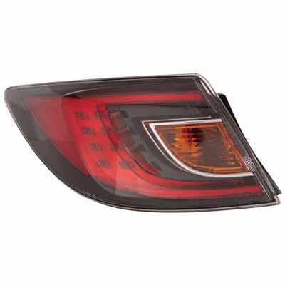 REAR LAMP - L/H - RED - TO SUIT MAZDA 6 2008-  4DR & H/BACK