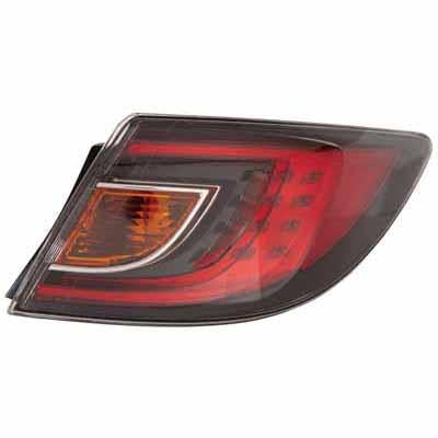 REAR LAMP - R/H - RED - TO SUIT MAZDA 6 2008-  4DR & H/BACK