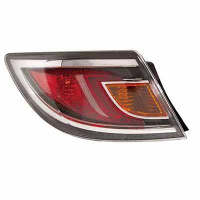 REAR LAMP - L/H - RED - TO SUIT MAZDA 6 2010-  4DR & H/BACK