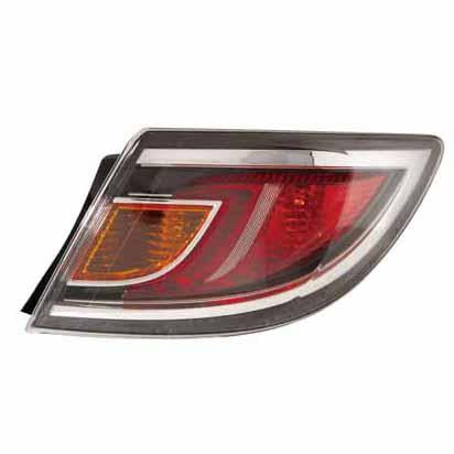 REAR LAMP - R/H - RED - TO SUIT MAZDA 6 2010-  4DR & H/BACK