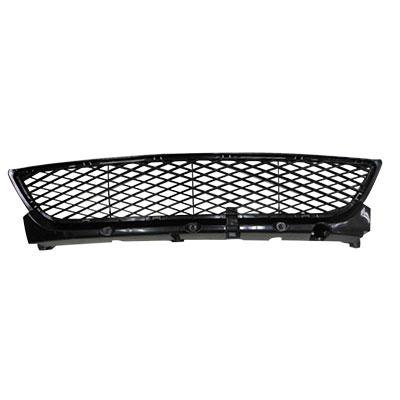 FRONT BUMPER GRILLE - WITH BRACKET - MAT/BLACK - CERTIFIED - TO SUIT MAZDA 3 2004-    SEDAN