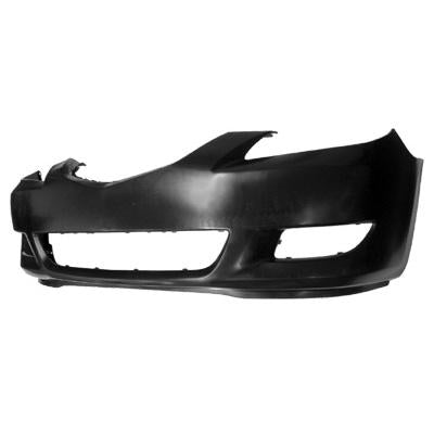 FRONT BUMPER - MAT/BLACK - TO SUIT MAZDA 3 2004-    SEDAN
