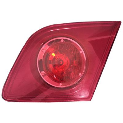 REAR LAMP - R/H - INNER - PINKY RED WITH RED CIRCLE - TO SUIT MAZDA 3 2004-    5DR