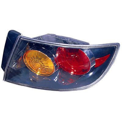 REAR LAMP - R/H - OUTER BLACK TYPE - TO SUIT MAZDA 3 2004-    SEDAN