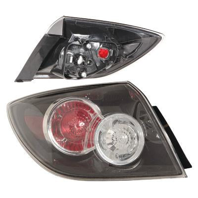 REAR LAMP - L/H - OUTER - TO SUIT MAZDA 3 2007-    5DR