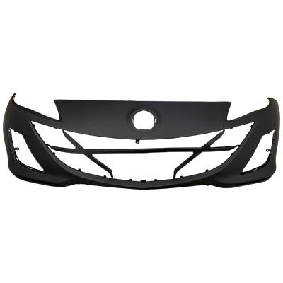 FRONT BUMPER - BLACK - TO SUIT MAZDA 3 2009-
