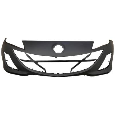 FRONT BUMPER - PRIMED BLACK - TO SUIT MAZDA 3 2009-