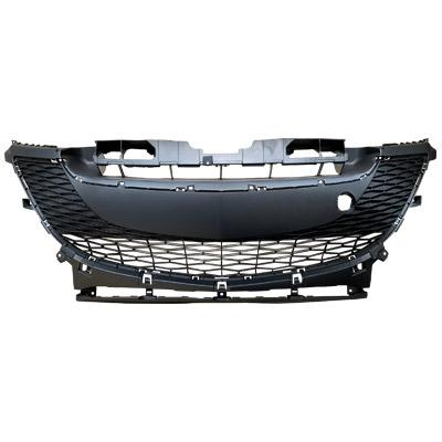 FRONT BUMPER GRILLE - MAT/DARK GREY - TO SUIT MAZDA 3 2009-