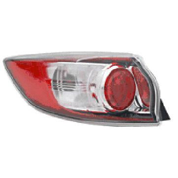 REAR LAMP - L/H - OUTER - TO SUIT MAZDA 3 2009-  H/BACK