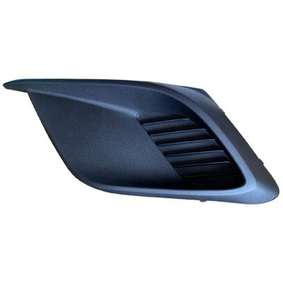 FOG LAMP COVER - L/H - MAT/BLACK - WITHOUT HOLE - TO SUIT MAZDA 3 2014-