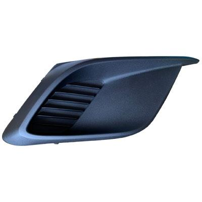 FOG LAMP COVER - R/H - MAT/BLACK - WITHOUT HOLE - TO SUIT MAZDA 3 2014-