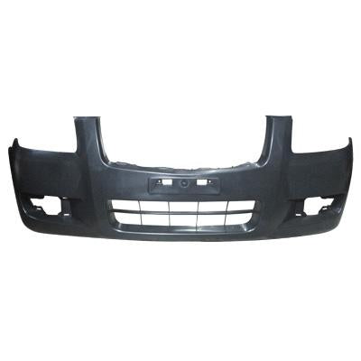 FRONT BUMPER - MAT/BLACK - W/O WHEEL MLDG HOLES - TO SUIT MAZDA BT50 P/UP 2007-  2WD