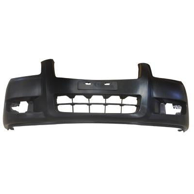 FRONT BUMPER - MAT/BLACK - W/WHEEL MLDG HOLES - TO SUIT MAZDA BT50 P/UP 2007-  4WD