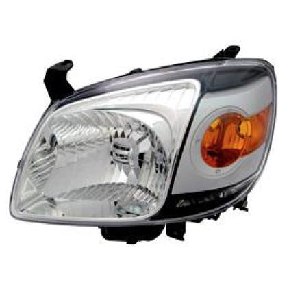 HEADLAMP - L/H - BLACK - TO SUIT MAZDA BT50 P/UP 2007-