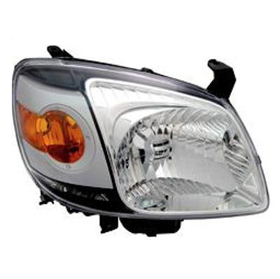 HEADLAMP - R/H - BLACK - TO SUIT MAZDA BT50 P/UP 2007-