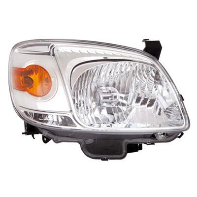 HEADLAMP - R/H - CHROME - TO SUIT MAZDA BT50 P/UP 2009-