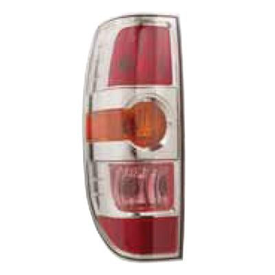 REAR LAMP - L/H - W/CHROME INNER - TO SUIT MAZDA BT50 P/UP 2009-  F/LIFT
