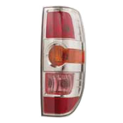 REAR LAMP - R/H - W/CHROME INNER - TO SUIT MAZDA BT50 P/UP 2009-  F/LIFT