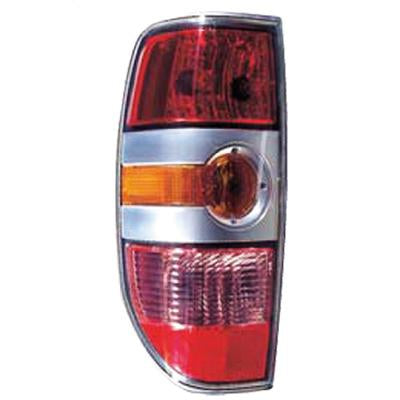 REAR LAMP - L/H - W/SILVER INNER - TO SUIT MAZDA BT50 P/UP 2007-