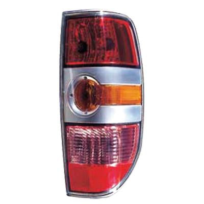 REAR LAMP - R/H - W/SILVER INNER - TO SUIT MAZDA BT50 P/UP 2007-